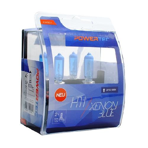 H11 12V DUO XENON BLUE (cena za par sijalica) PTZXB11