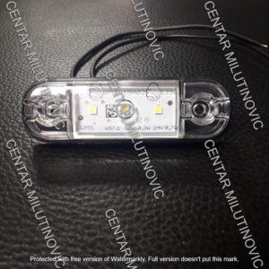 LED GABARITNA LAMPA BELA  WAS710 12/24V