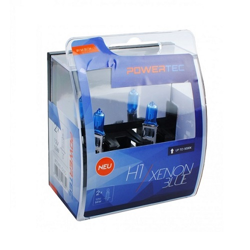 H1 12V DUO XENON BLUE (cena za par sijalica) PTZXB1