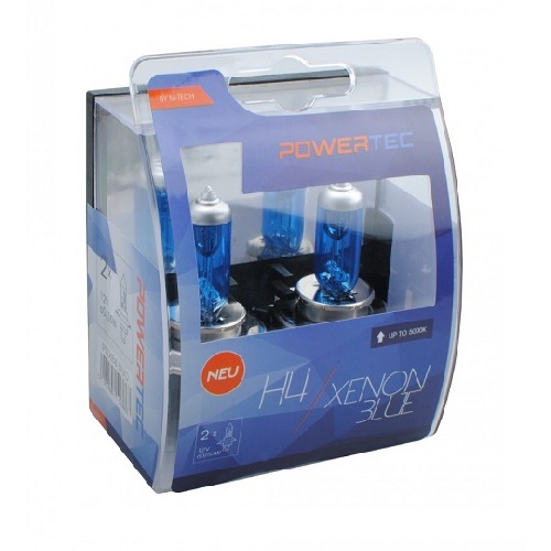 H4 12V DUO XENON BLUE (cena za par sijalica) PTZXB4