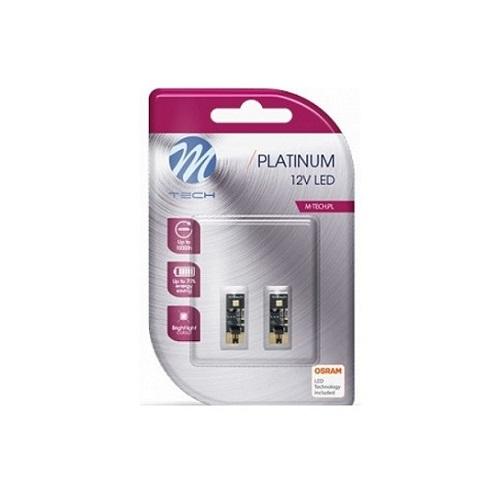 12V W5W LED PLATINUM CANBUS SIJALICA (2komada)