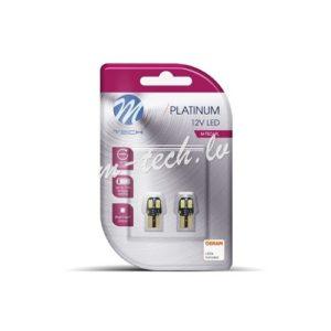 12V W5W T10 LED PLATINUM CANBUS SIJALICA (2 komada)