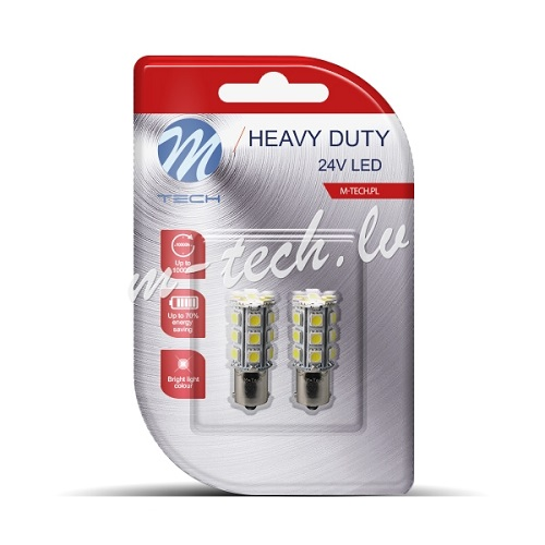 24V BA15S LED HEAVY DUTY SIJALICA(2 komada)
